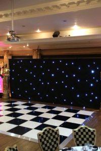Black LED Starcloth
