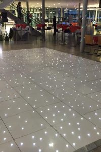 White Twinkling Dancefloor