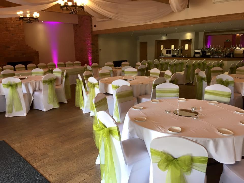 Charnock Farm Restaurant Leyland Venue Dressing Hire For Weddings