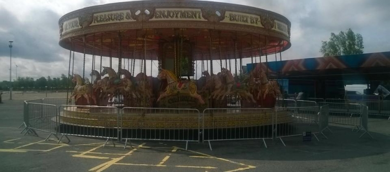 Carousel Fairground Ride for hire Northwest UK